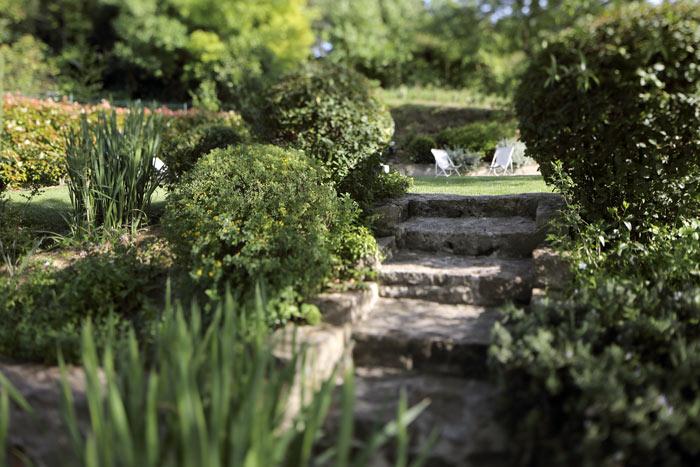 le jardin gites carcassonne sous les courtines